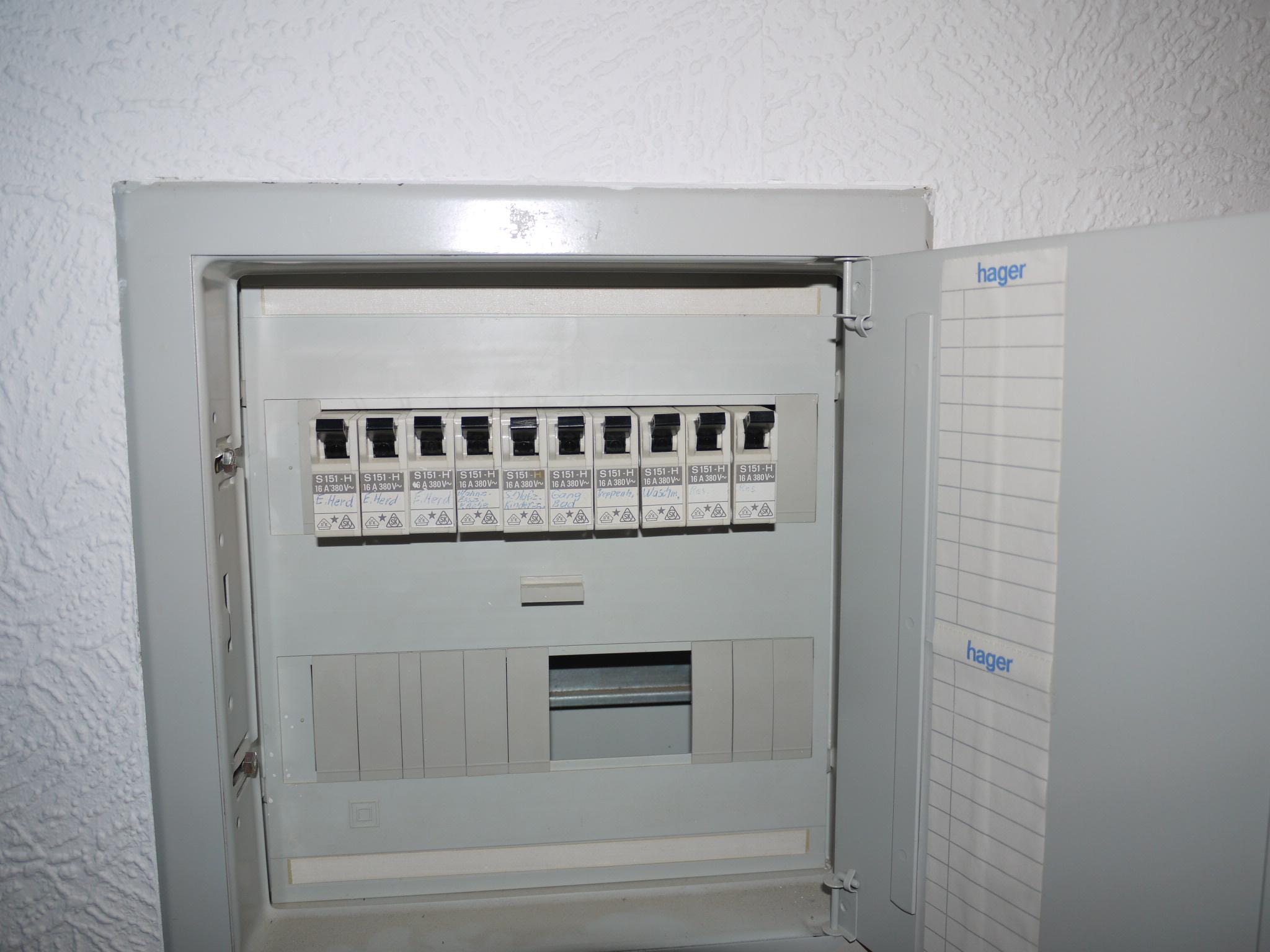 Elektro FI-Schutzschalter | Fred Kossick