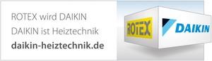 Das KeyVisual begleitet den Übergang von ROTEX zu Daikin und nimmt die Kunden in der Übergangsphase mit. Der Markenwechsel wird mit www.daikin-heiztechnik.de konkret